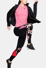 Under Armour Rush colorblock legging - black
