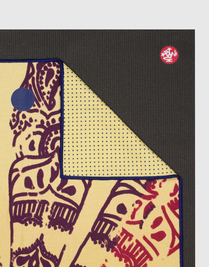 MANDUKA YTrSkidless towel-Chakra