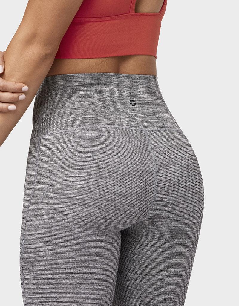 MANDUKA Essential high line legging - stone melange