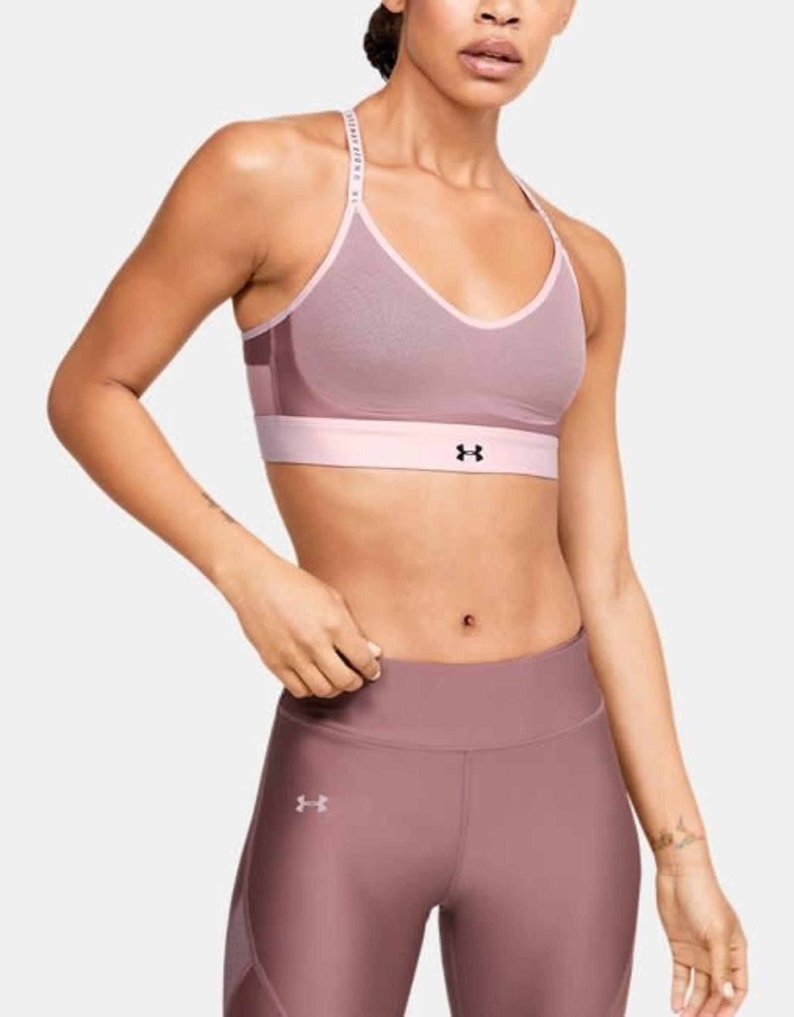Under Armour Infinity low bra - pink