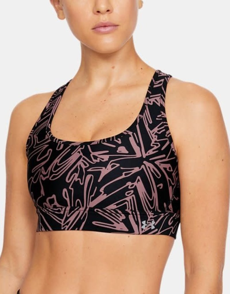 UNDER ARMOUR Crossback x mid bra - black