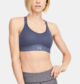 Under Armour Infinity mid heather bra - blue