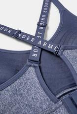 Under Armour Infinity mid heather bra - blue