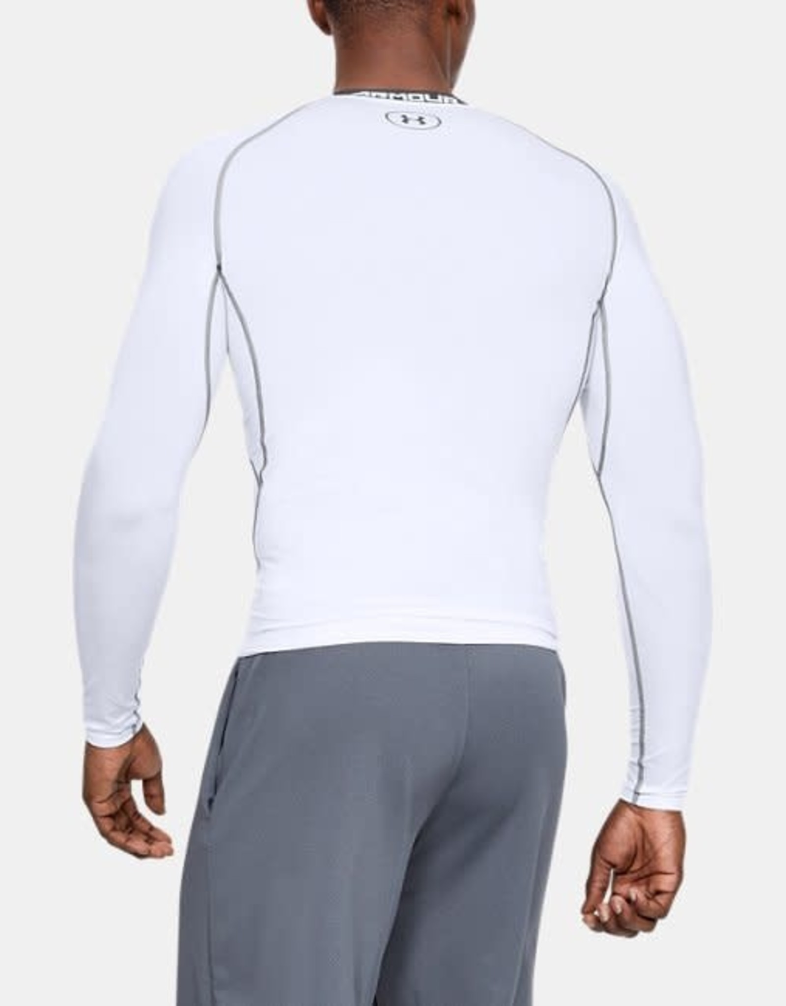 Under Armour HG Armour LS Compression - white