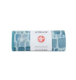 MANDUKA eQua Mat Towel - Standard -PATINA SQUARES