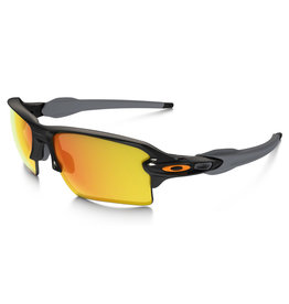 Oakley Flak 2.0 XL - Polished Black - Fire Iridium