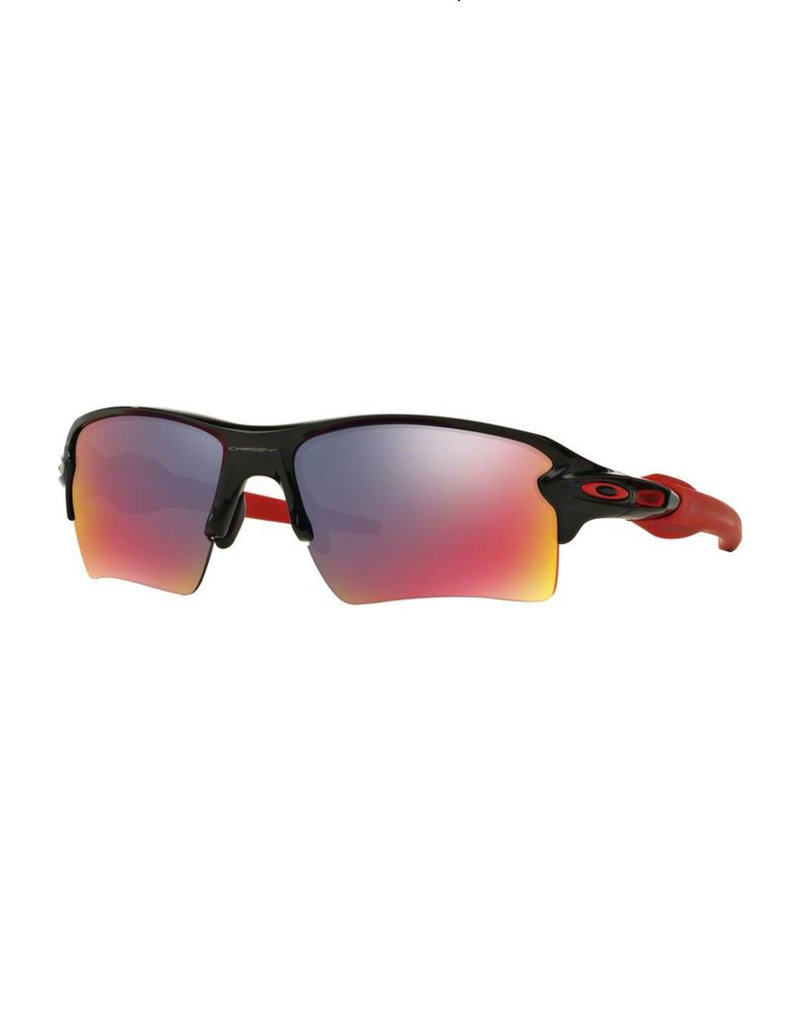Flak 2.0 XL Polished Black - Red Iridium