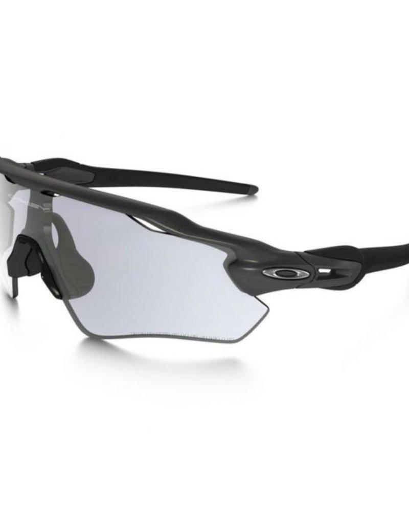 RADAR EV PATH - Polished black - Clear black iridium photochromic