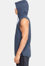 UNDER ARMOUR Double Knit sleeveless hoodie - blue