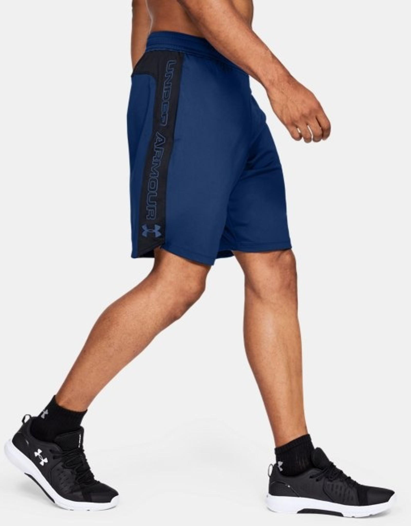 Under Armour MK1 Graphic Shorts - electric blue