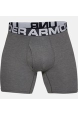 Under Armour UA Charged Cotton 6inch Boxers 3 Pack - grey