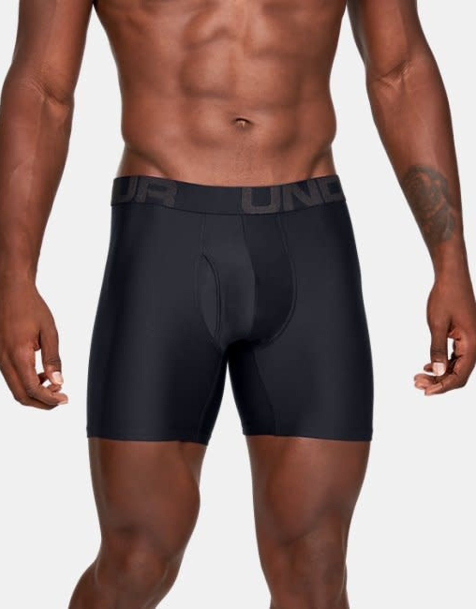 Under Armour UA Tech 6inch Boxers 2 Pack - black