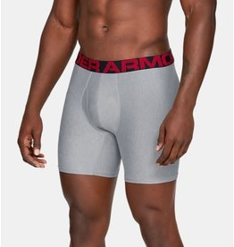 Under Armour UA Tech 6inch Boxers 2 Pack - grey