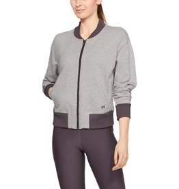 Under Armour Unstoppable Terry full zip bomber - grey