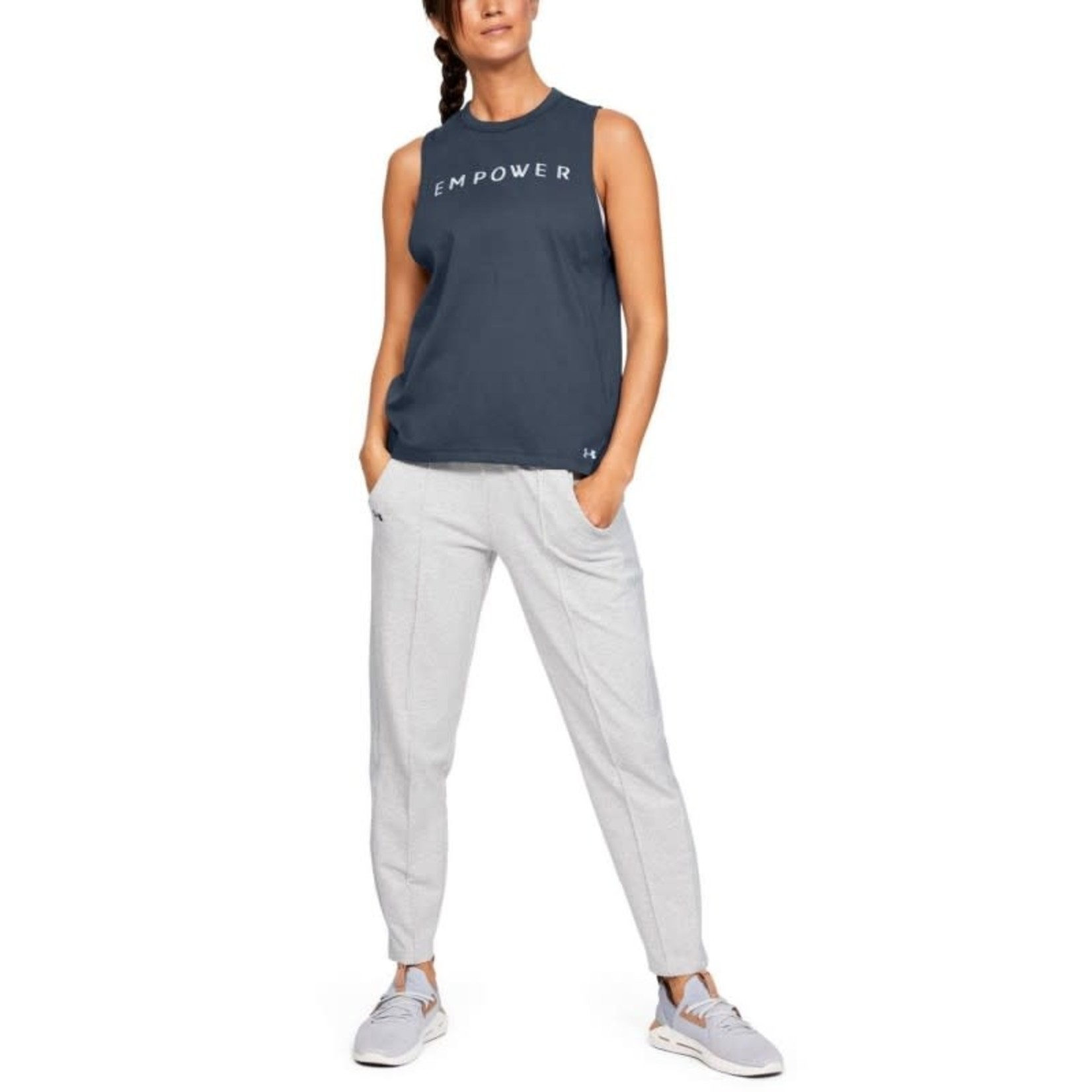 Under Armour Graphic Empower Muscle Sleeveless - blue