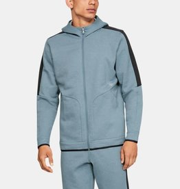 Under Armour Recovery fleece full zip hoodie - grey