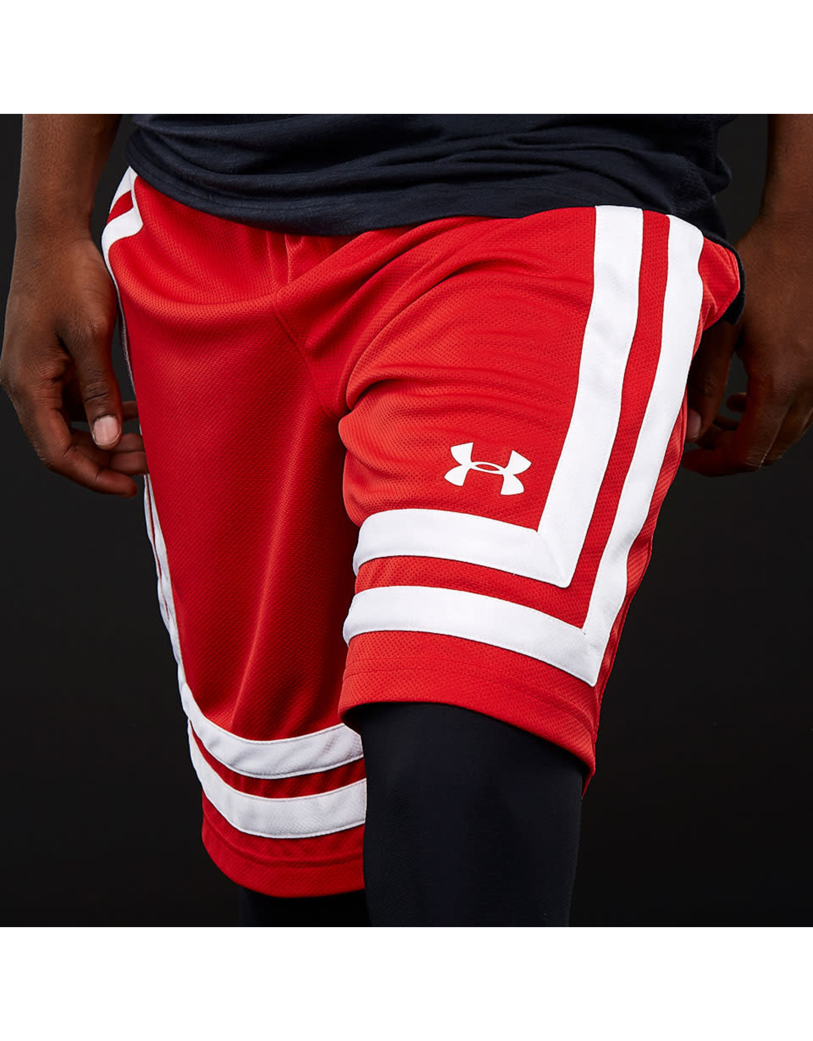 """Under Armour Baseline 10"""" shorts - red"""