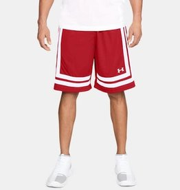 "Under Armour Baseline 10"" shorts - red"