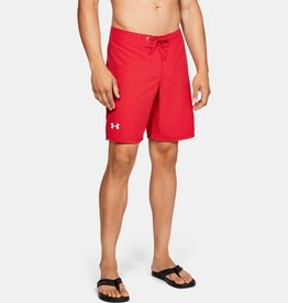 Under Armour Shore Break Emboss Boardshort - red