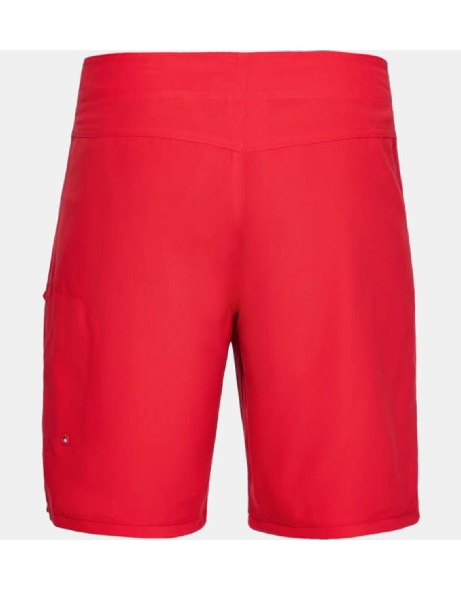 Under Armour Shore Break Emboss Boardshort - red
