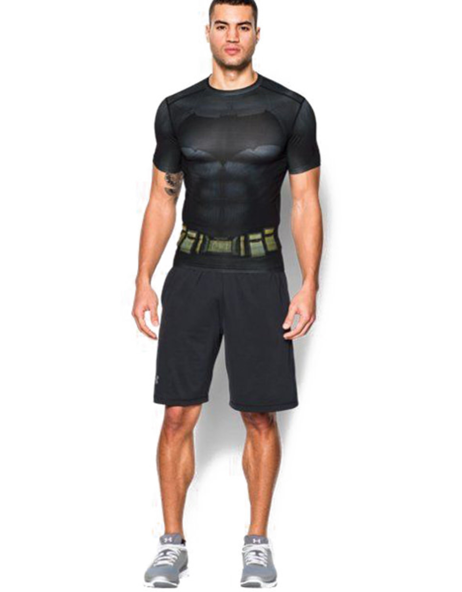 Under Armour Compression SS Batman Suit