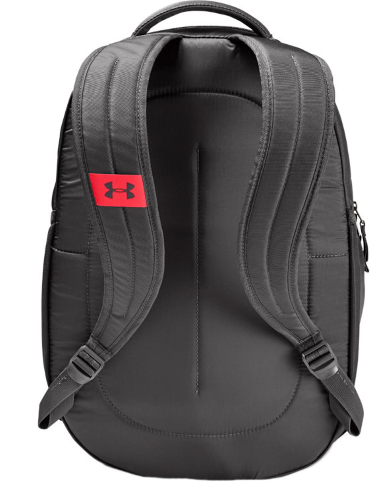Under Armour UA Hustle 4.0 Backpack-GRY-OSFA