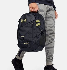 Under Armour UA Hustle 4.0 Backpack-BLK-OSFA 26L