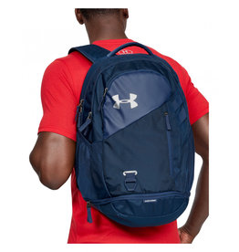 Under Armour UA Hustle 4.0 Backpack-NVY-OSFA 26L