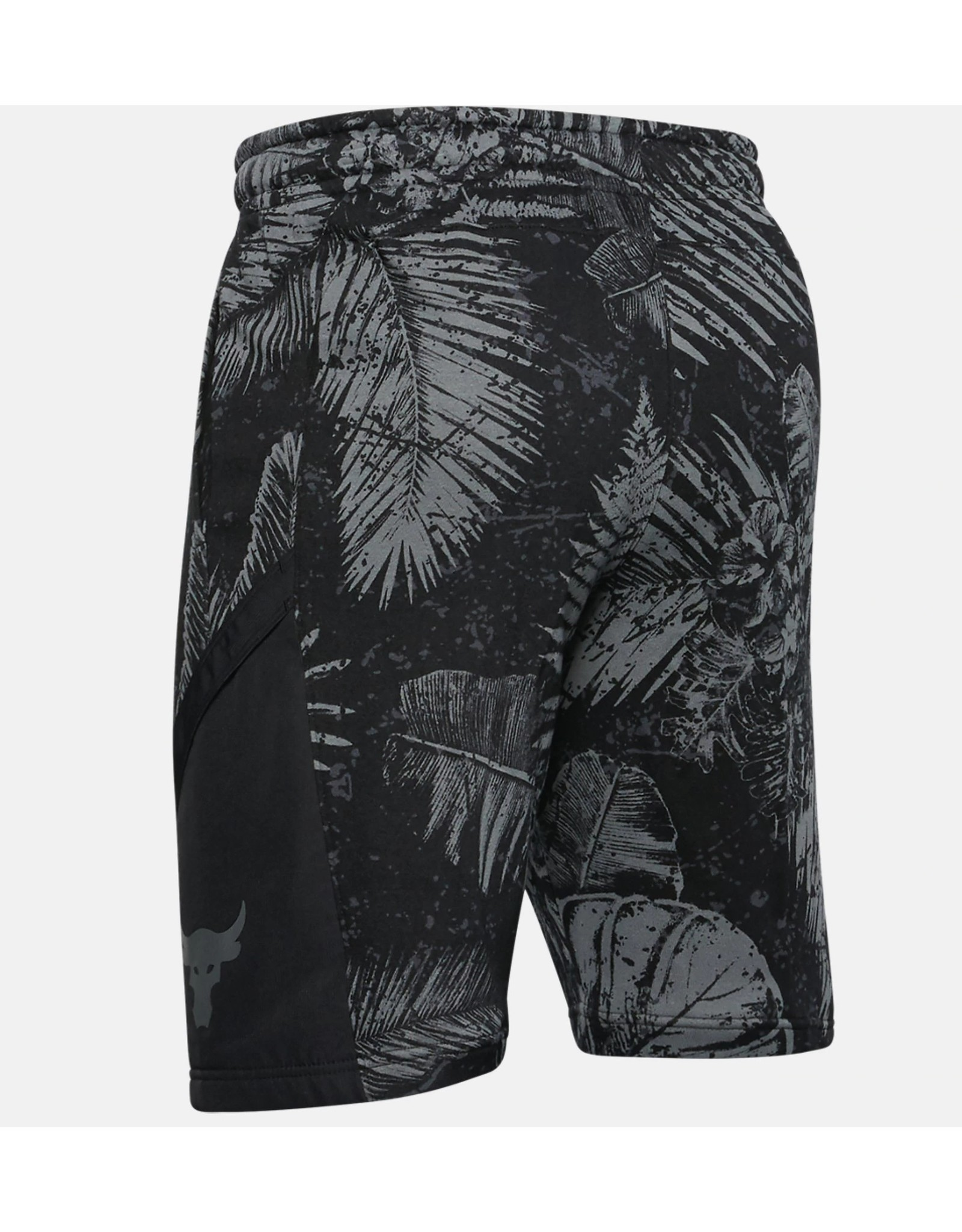 Under Armour UA Project Rock Terry Printed Short - black