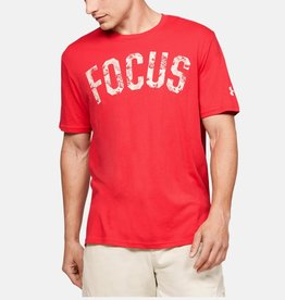 Under Armour UA Project Rock FOCUS SS - red