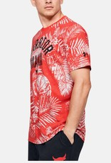 Under Armour UA pjt Rock Camo SS - red