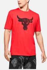 Under Armour UA Pjt Rock Brahma Bull SS - red