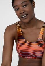 Speedo W BEACH Summer Stripe U-back Bikini - Navy/Orange/Yellow