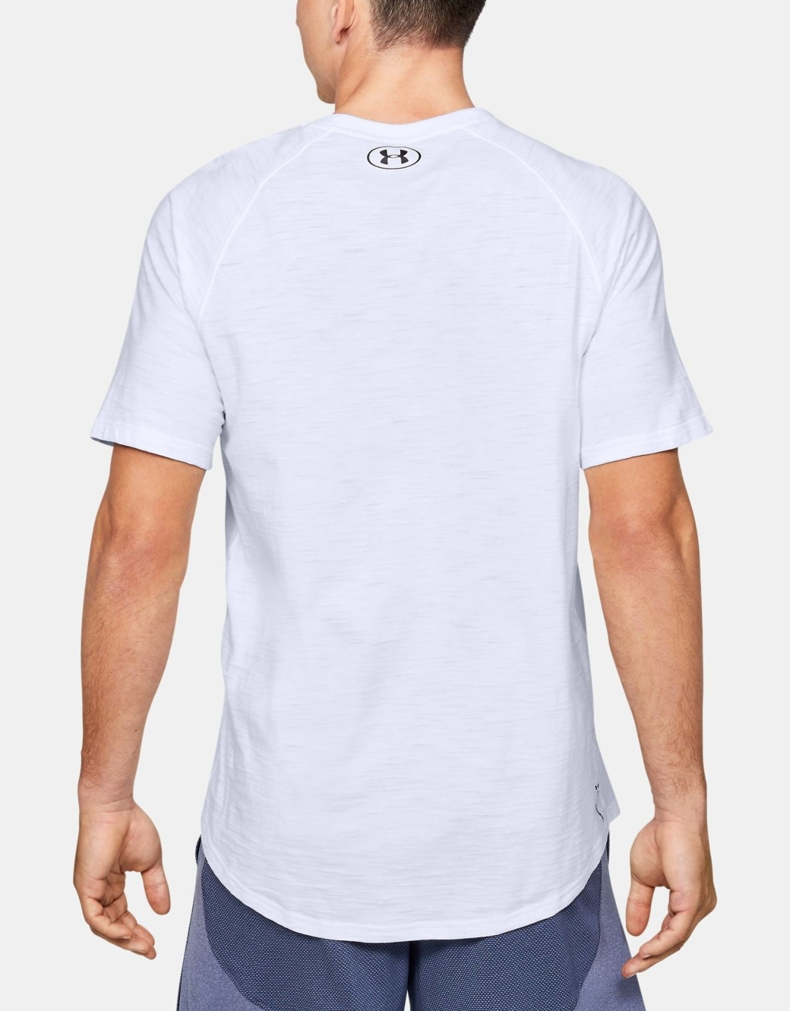 Under Armour UA Charged Cotton SS - white