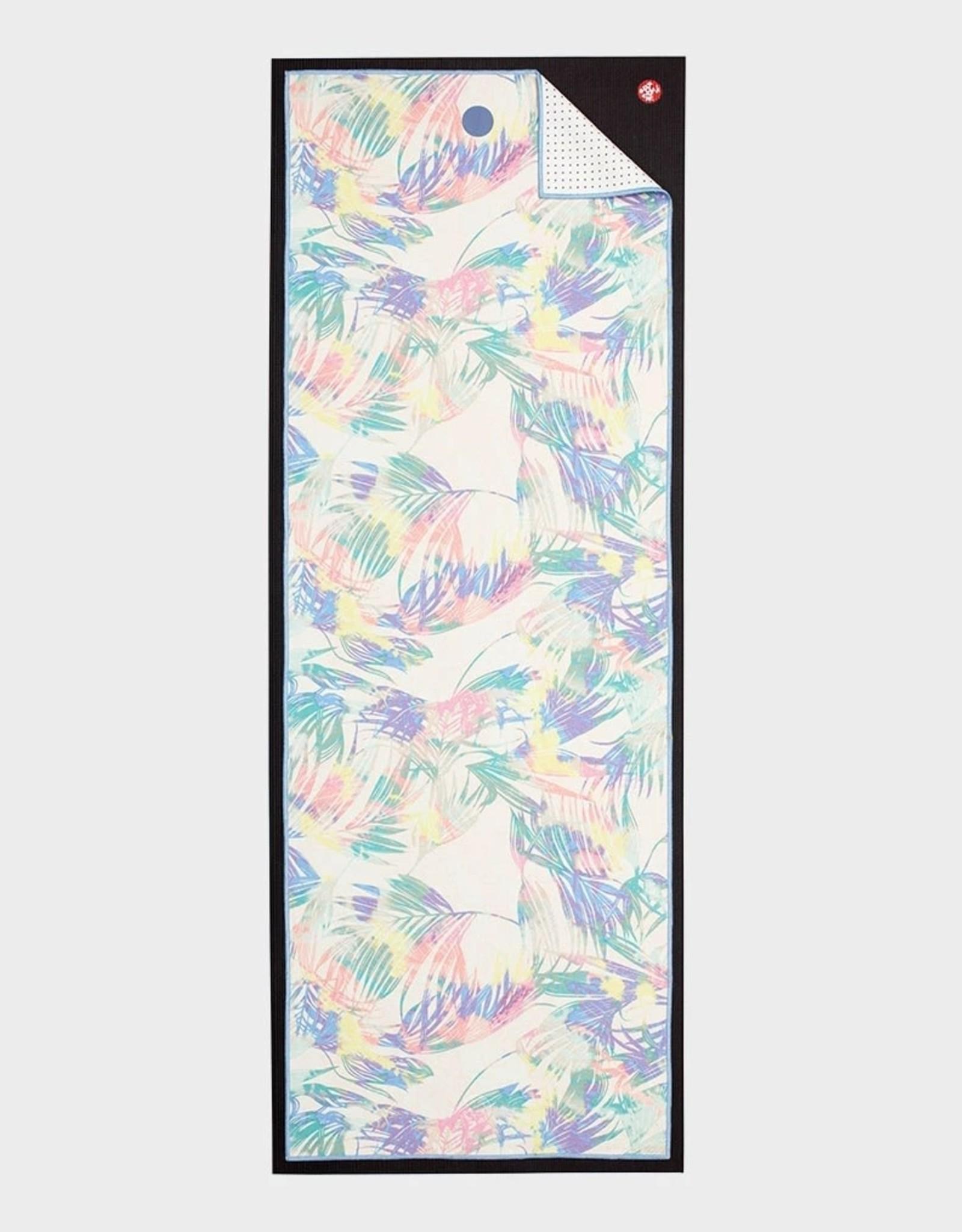 Manduka Yogitoes towel - Tropics Multi