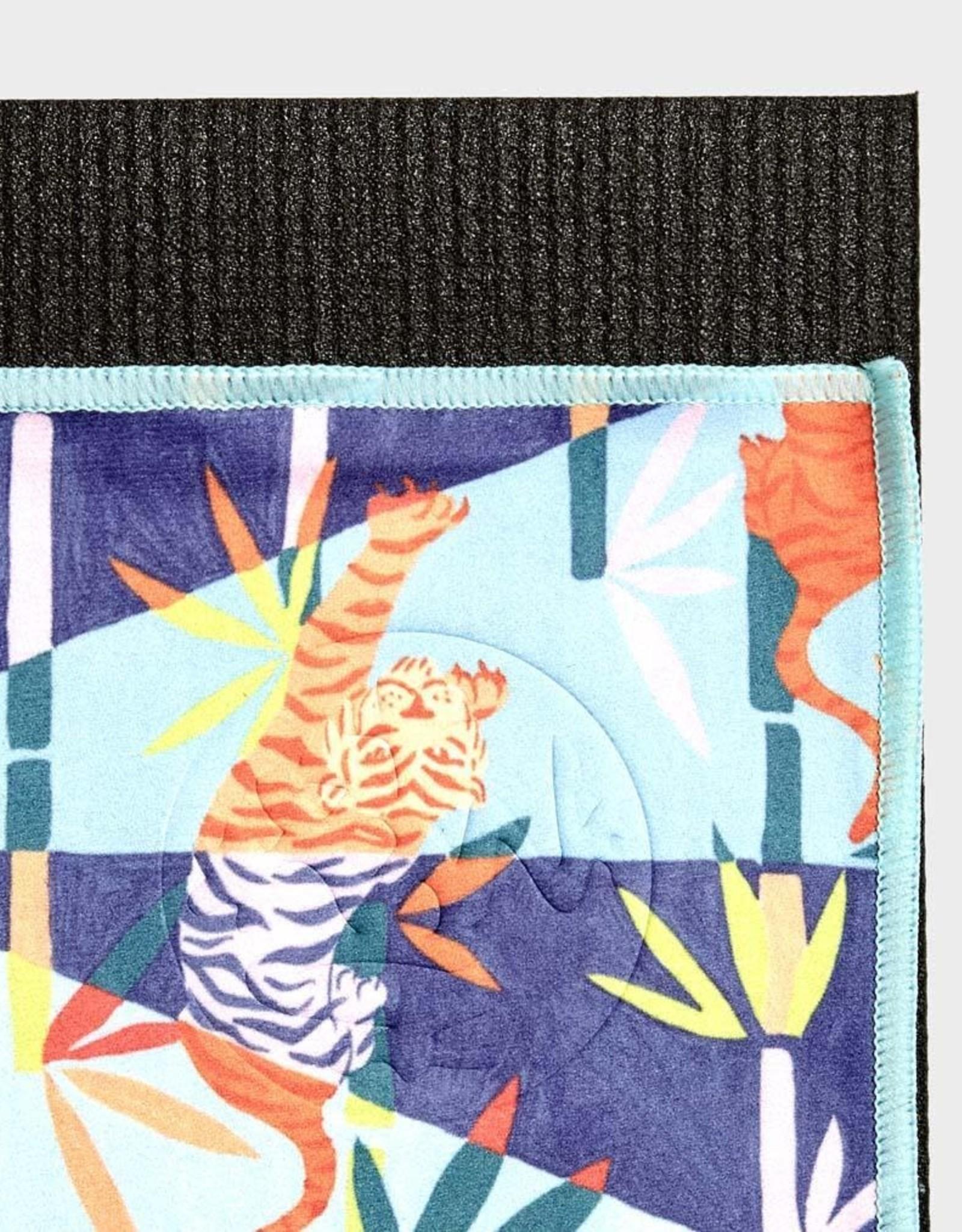 Manduka eQua Mat Towel - Limited Collection - Bengal Light Blue