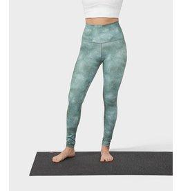 Manduka Essence Legging Printed - Camo Tie Dye Greens