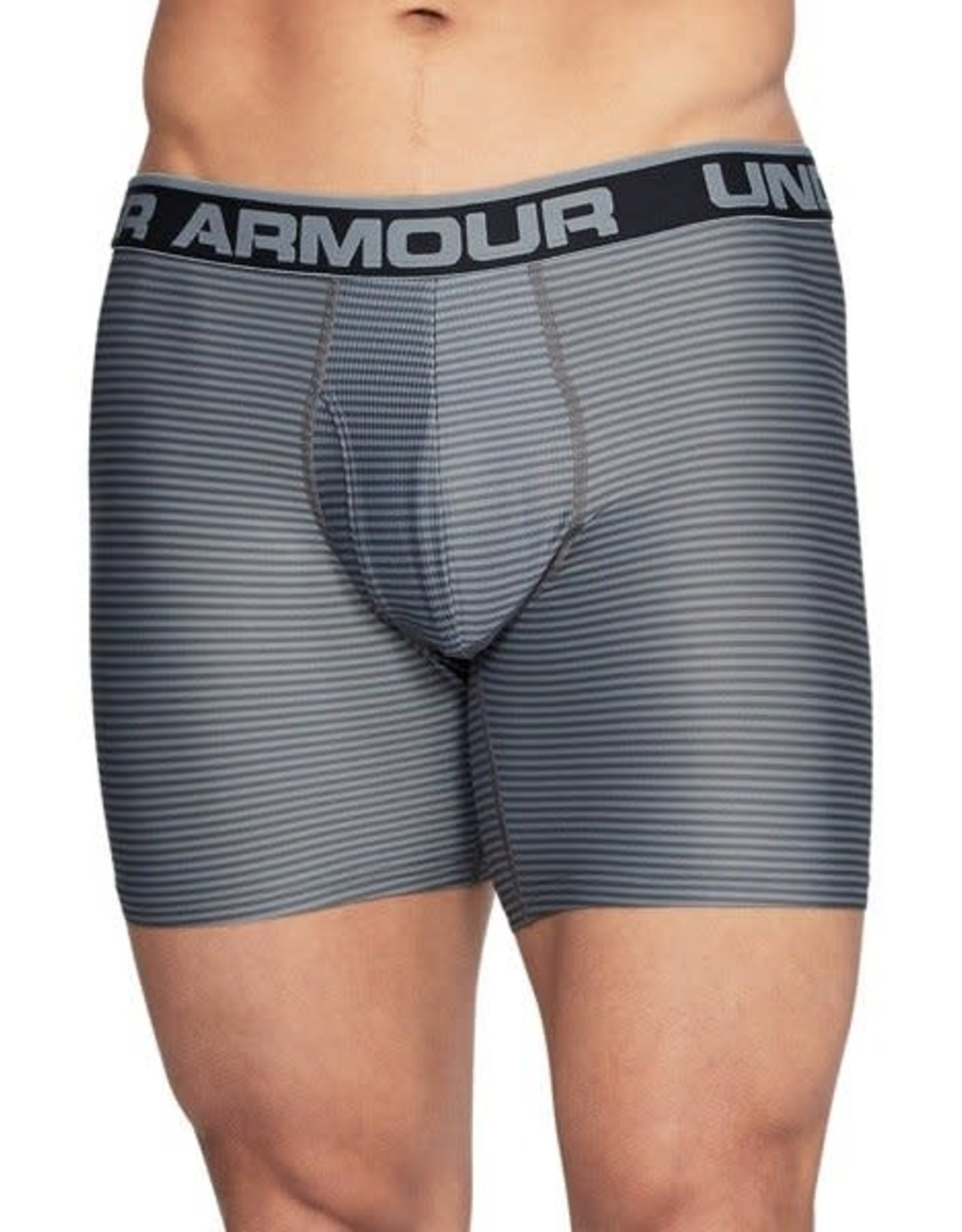 Under Armour O-series 6inch Boxerjock 2 Pack novelty -  black