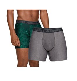 Under Armour O-series 6inch Boxerjock 2 Pack novelty -  green