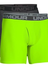 Under Armour O-series 6inch Boxerjock 2 Pack -  grey