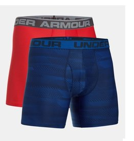 Under Armour O-series 6inch Boxerjock 2 Pack novelty -  red