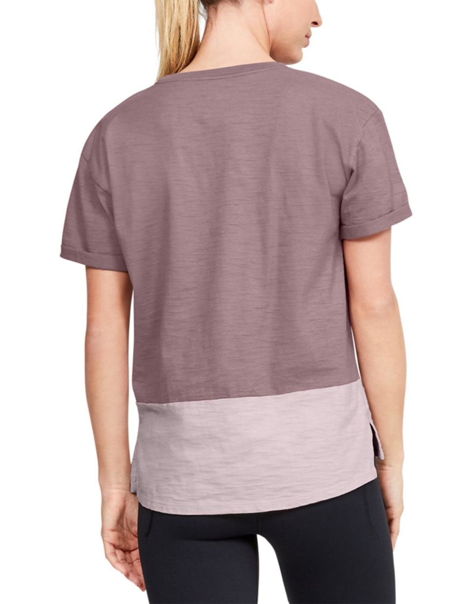 Under Armour UA Charged Cotton SS - pink