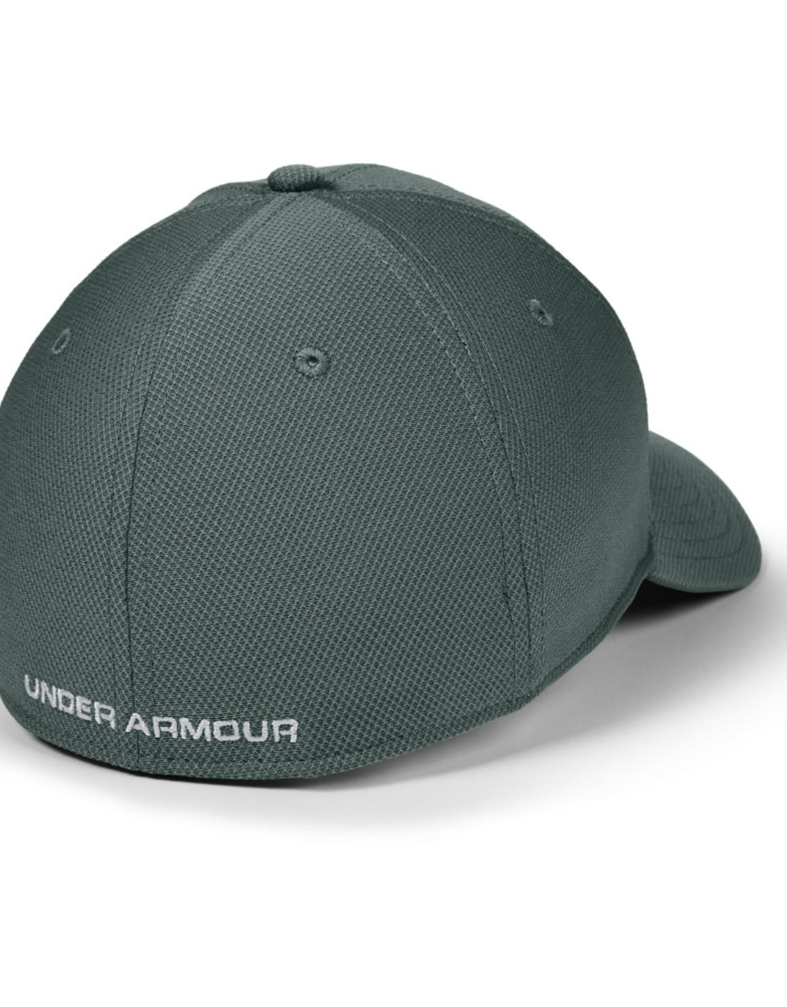Under Armour UA Men's Blitzing 3.0 Cap - Lichen Blue-Lichen Blue-Halo Gray