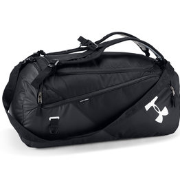Under Armour UA Contain Duo MD Duffle BP - Black-Black-Silver - OSFA
