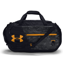 Under Armour UA Undeniable 4.0 Medium Duffle - Black-Black-Golden Yellow - OSFA