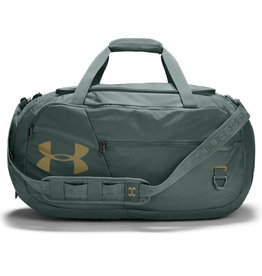 Under Armour UA Undeniable 4.0 Medium Duffle - Lichen Blue-Lichen Blue-Metallic Gold Luster - OSFA