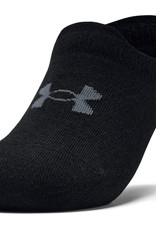 Under Armour Ultra low 3 pack - black