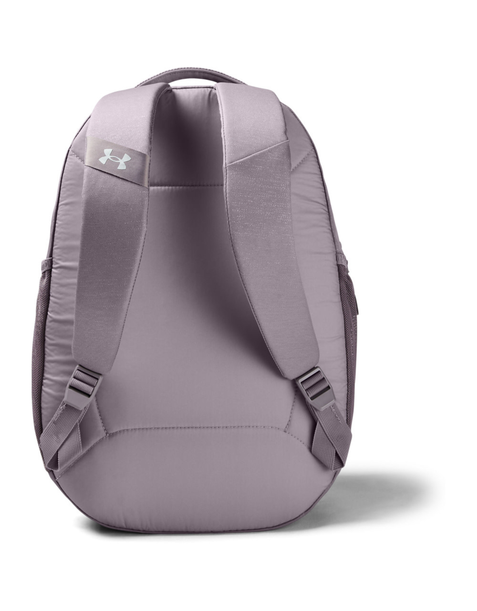 Under Armour UA Hustle Signature Backpack - Slate Purple-Slate Purple-Metallic Silver - OSFA