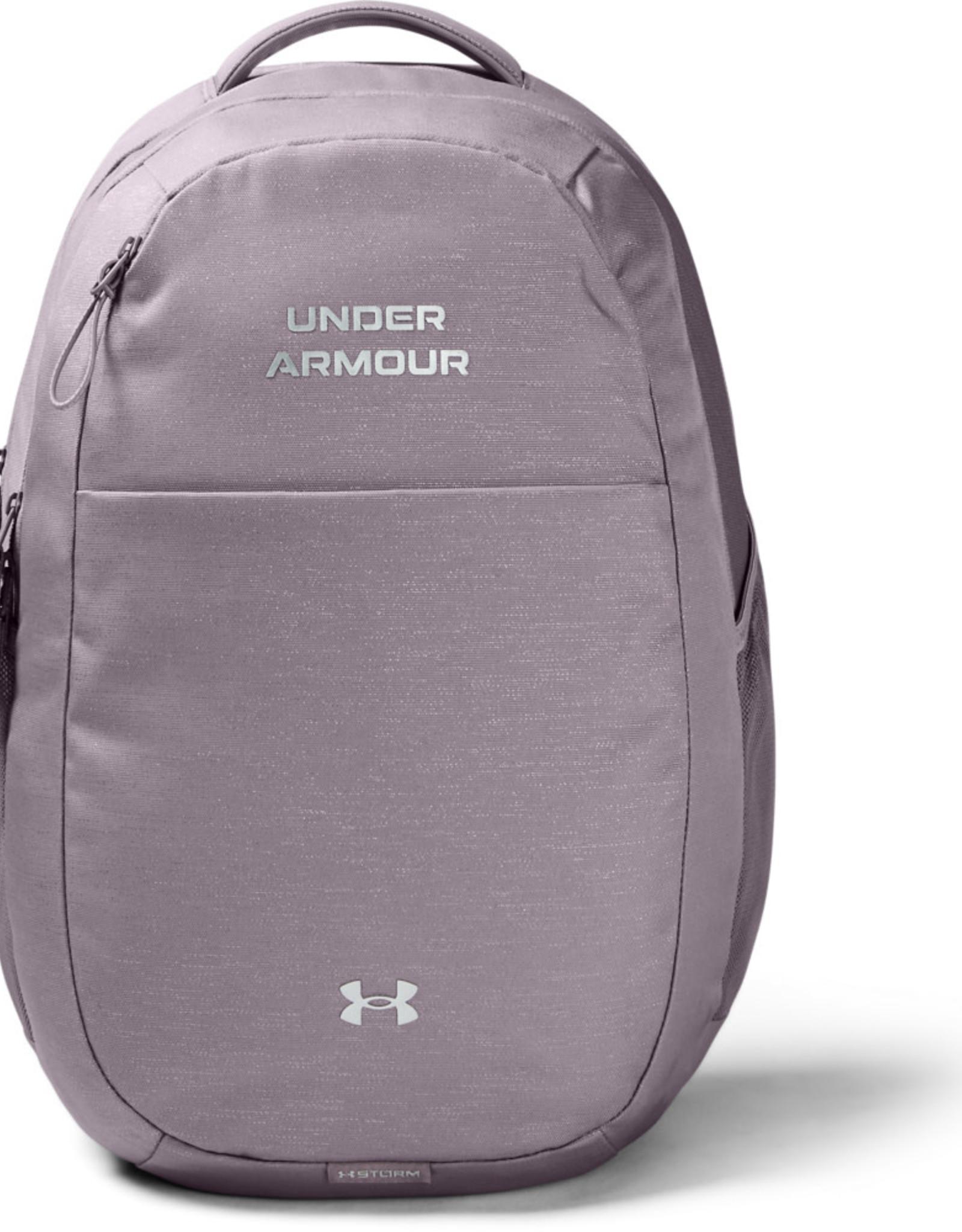 Under Armour UA Hustle Signature Backpack - Slate Purple-Slate Purple-Metallic Silver - OSFA