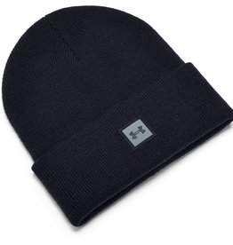 Under Armour UA Truckstop Beanie - Balmy Brown--Pitch Gray - OSFA
